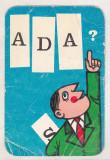 Bnk cld Calendar de buzunar - 1971 - ADAS