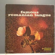 FAMOUS ROMANIAN TANGOS (EDE 0779/ELECTRECORD) - VINIL/Stare PERFECTA - Muzica Latino