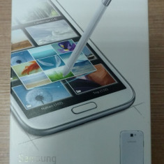 Samsung Galaxy Note 2 sigilat NOU neverlocked - Telefon mobil Samsung Galaxy Note 2, Gri, 16GB, Neblocat