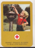 Bnk cld Calendar de buzunar - 1979 - Crucea Rosie