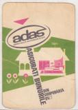 bnk cld Calendar de buzunar - 1973 - ADAS