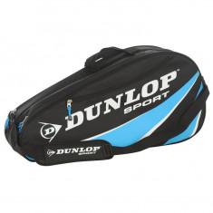 Geanta Tenis Dunlop Club 6 Racket Thermo- Originala - Anglia - L70 x W34 x D19