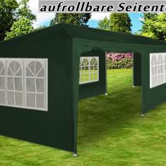 Cort pentru evenimente, cort de gradina, cort petreceri 3x9 m, 9x3 m, verde