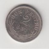 2 lei 1924 Bruxelles, Ferdinand I L 4.13 - Moneda Romania, Cupru-Nichel