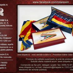 Eșarfă tricolor pentru Primar + Casetă specială pentru păstrare - Esarfa Barbati
