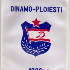 Fanion DINAMO PLOIESTI - Daciada Dinamoviada de inot 1986 - Fanion fotbal