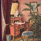 Veche pictura ulei pe carton - Tablou autor neidentificat, Scene gen, Altul
