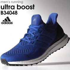 Adidasi Originali Adidas Ultra BOOST, Autentici, Noi in Cutie ! - Adidasi barbati, Marime: 39 1/3, Culoare: Bleu, Textil
