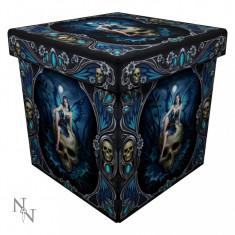 Taburet / cutie depozitare Zâna gotică