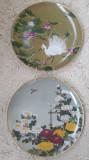 Set de doua farfurii din portelan - Made in Japan