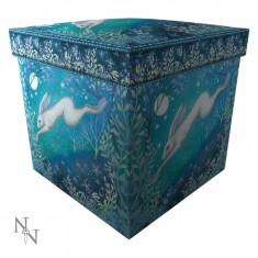 Taburet / cutie depozitare Lumina lunii