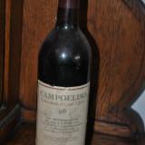 STICLA DE VIN VECHI DE COLECTIE AN 1985 CAMPOELISO - Vinde Colectie, Aroma: Sec, Sortiment: Alb, Zona: Europa