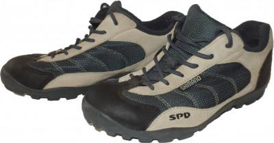 Incaltaminte pantofi ciclism SHIMANO SPD + placute (38.5) cod-347734 foto