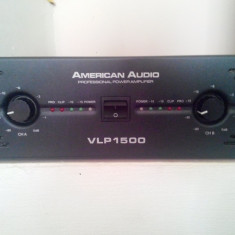Amplificator Profesional American Audio VLP-1500 1500W. - Amplificator audio, peste 200W