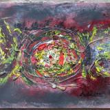 Abstract 3 - semnat Ada 2011 - Pictor roman, Peisaje, Ulei, Altul