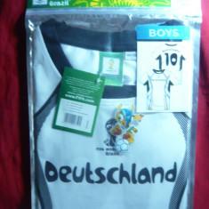 Tricou al Echipei Germaniei la Campionatul Mondial din Brazilia, 2014, baieti - Tricou echipa fotbal, Marime: S, Culoare: Alb