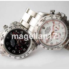 Rolex Daytona Silver Case ! ! ! Garantie ! CUTIE CADOU ! - Ceas barbatesc Rolex, Lux - elegant, Mecanic-Automatic, Inox, Ziua si data