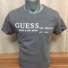 Tricou Guess by Marciano model IULIE 2016 STOC LIMITAT!!! - Tricou barbati Guess by Marciano, Marime: L, Culoare: Alb, Maneca scurta, Bumbac