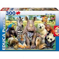Puzzle Educa Animale 300 Piese