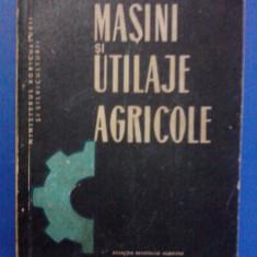 Masini si utilaje agricole(1969) / R3S