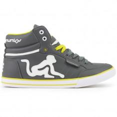 Adidasi Drunknmunky.model Boston Classic C116/Deep Grey - Adidasi barbati Drunknmunky, Marime: 40, 41, Culoare: Din imagine, Piele sintetica