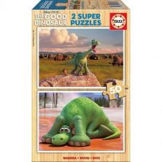 Puzzle Educa Bunul Dinozaur 2 X 50