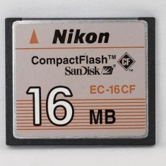 Compact flash 16mb nikon cf 16mb / card compact flash 32mb - Card memorie foto