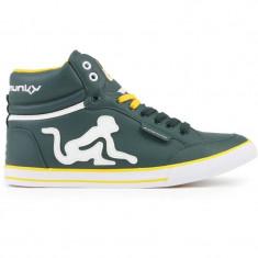 Adidasi Drunknmunky.model Boston Classic C114/Botle Green - Adidasi barbati Drunknmunky, Marime: 40, 42, 43, Culoare: Din imagine, Piele sintetica