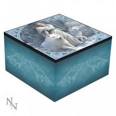 Cutie bijuterii cu oglindă Gardienii iernii