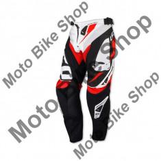 MBS Pantaloni motocross Ufo Revolution, alb, 46, Cod Produs: PI04390W46 - Imbracaminte moto