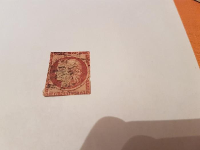 franta 1849 ceres/ 1 Franc/ 1000 euro