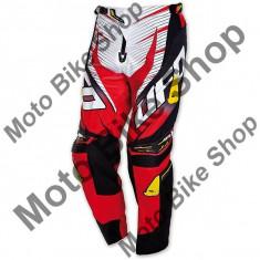 MBS Pantaloni motocross Ufo Voltage, rosu, 54, Cod Produs: PI04377B54 - Imbracaminte moto