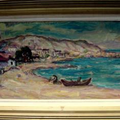 Barci la Balcic, Nicolcea Spineni - Pictor roman