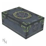 Cutie cărți de tarot Pentagramă cu iederă