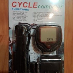 Kilometraj bicicleta-vitezometru, Ciclocomputer bicicleta