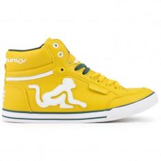 Adidasi Drunknmunky.model Boston Classic C115/Mustard - Adidasi barbati Drunknmunky, Marime: 41, 42, Culoare: Din imagine, Piele sintetica
