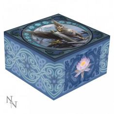 Cutie bijuterii cu oglindă Tărâmul seninătății