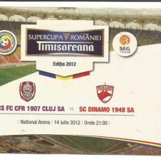 @ Bilet meci- CFR CLUJ- Dinamo Bucuresti 14.07.2012