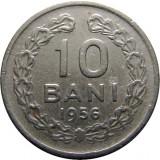 ROMANIA, 10 BANI 1956 * cod 56.4, Cupru-Nichel