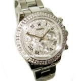ROLEX DAYTONA Bling ! ! ! Calitate Premium ! Cutie cadou ! - Ceas dama Rolex, Lux - elegant, Mecanic-Automatic, Inox, Ziua si data
