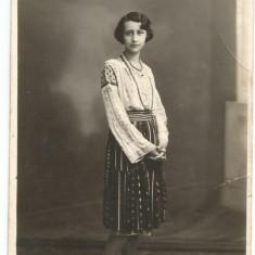@ carte postala (foto)-GIURGIU-Costum popular anul 1929