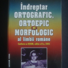 CRISTIANA ARANGHELOVICI - INDREPTAR ORTOGRAFIC, ORTOEPIC SI MORFOLOGIC - Dictionar Altele