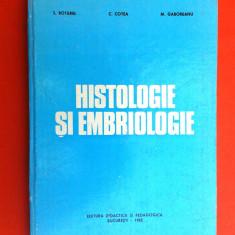 HISTOLOGIE SI EMBRIOLOGIE S Botarel
