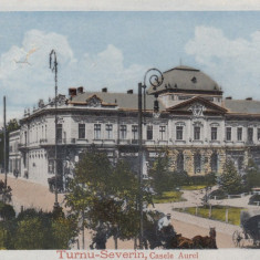 TURNU SEVERIN, CASELE AUREL - Carte Postala Oltenia dupa 1918, Drobeta-Turnu Severin, Necirculata, Printata