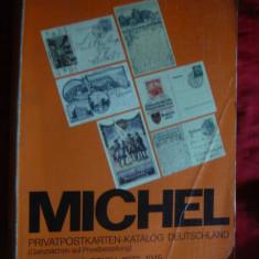 Catalog specializat Michel 1992 - Carti Postale Private Germania 1873-1945 - Carte postala tematica, Circulata, Printata