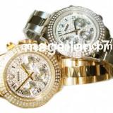 ROLEX DAYTONA Gold ! ! ! Calitate Premium ! Cutie cadou ! - Ceas dama Rolex, Lux - elegant, Mecanic-Automatic, Inox, Ziua si data