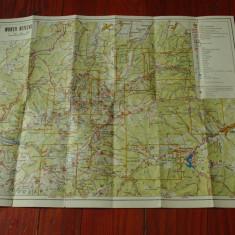 Harta Turistica - Muntii Retezat !!!