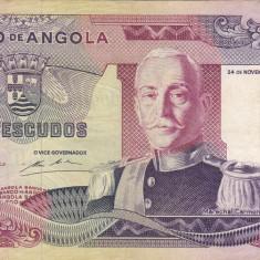 ANGOLA 1.000 escudos 1972 VF!!!