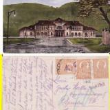 Piatra Neamt - Gara-rara - Carte Postala Moldova 1904-1918, Circulata, Printata