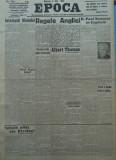 Epoca , ziar al Partidului Conservator , 8 Mai 1935 , Titulescu , V. Antonescu